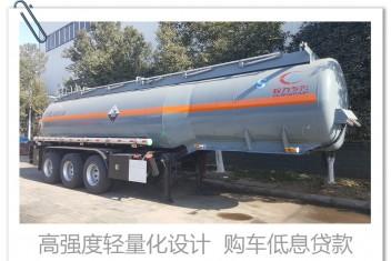 26-27立方 氢氧化钠(液碱) 不锈钢 衬塑 自重轻 三桥半挂罐车